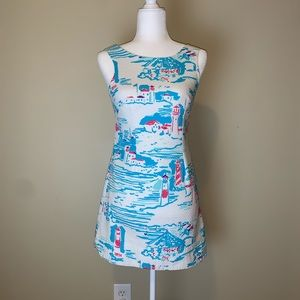 Lilly Pulitzer Delia Watch Out shift dress 3011